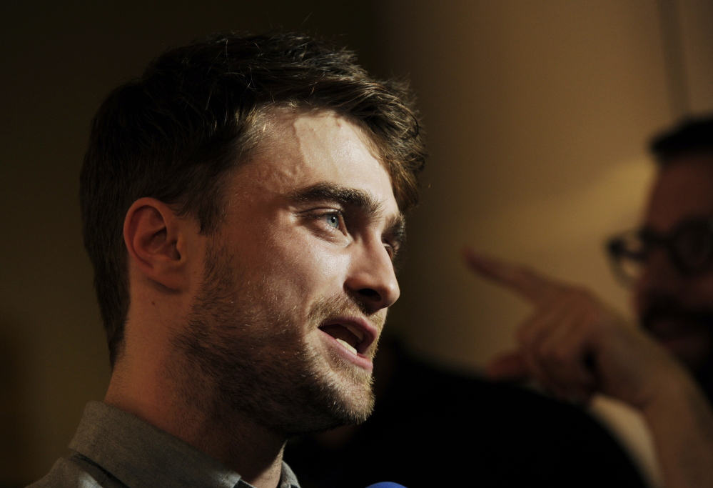 "Daniel Radcliffe of Harry Potter fame stars in the romantic comedy ""What If,"" which opened this weekend."
