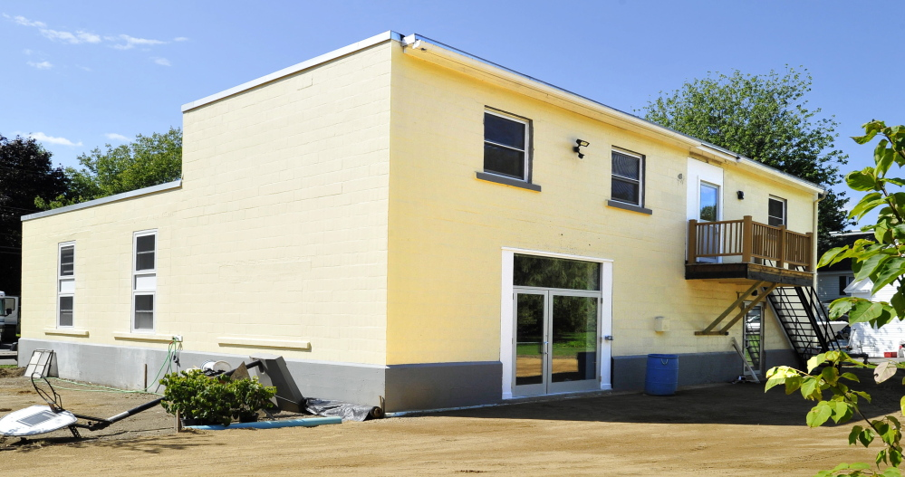 The Community Bicycle Center in Biddeford raised enough money to buy and renovate this building, where it plans to offer expanded programming to youth. The nonprofit program will make the move in September.
