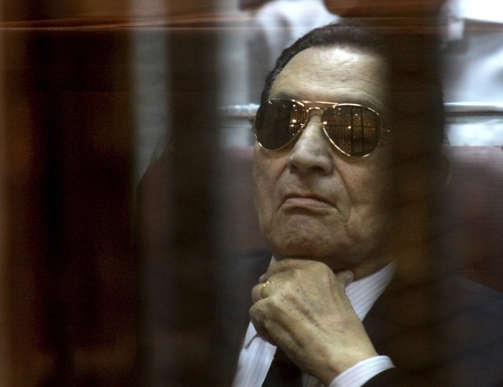 Ousted Egyptian President Hosni Mubarak, who was previously sentenced to life in prison, is on trial again.