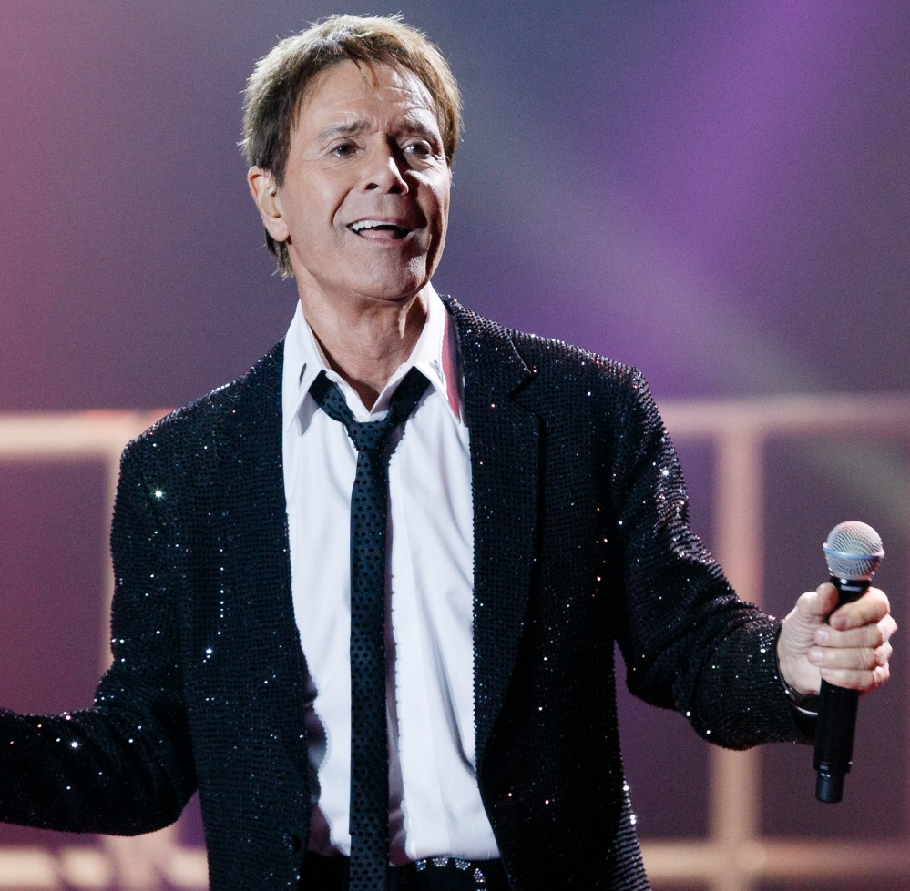 Cliff Richard performs during the first show of his European tour
