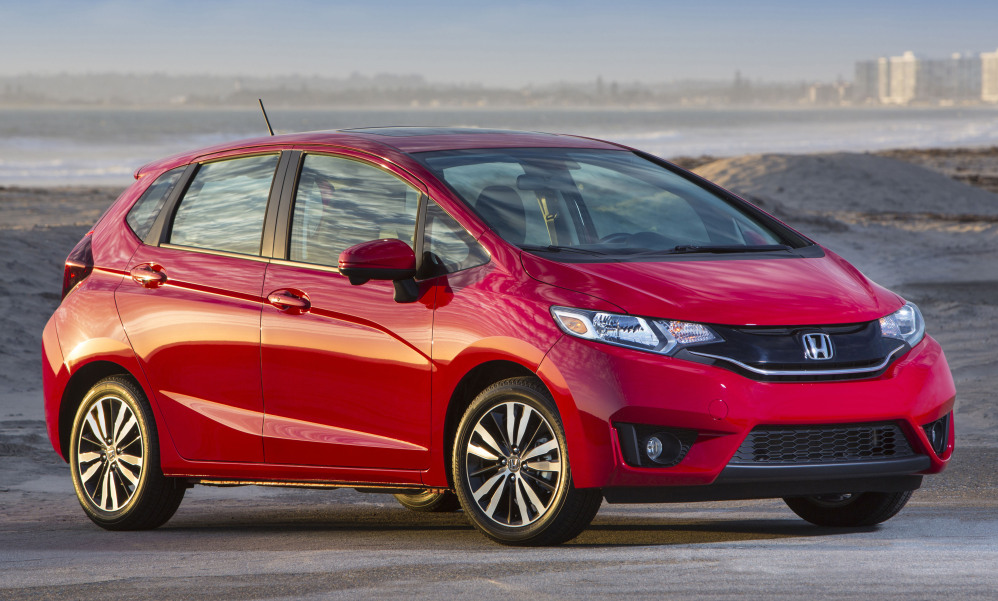 Honda will replace the front bumpers on 2015 Fit subcompacts to make them safer in crashes.