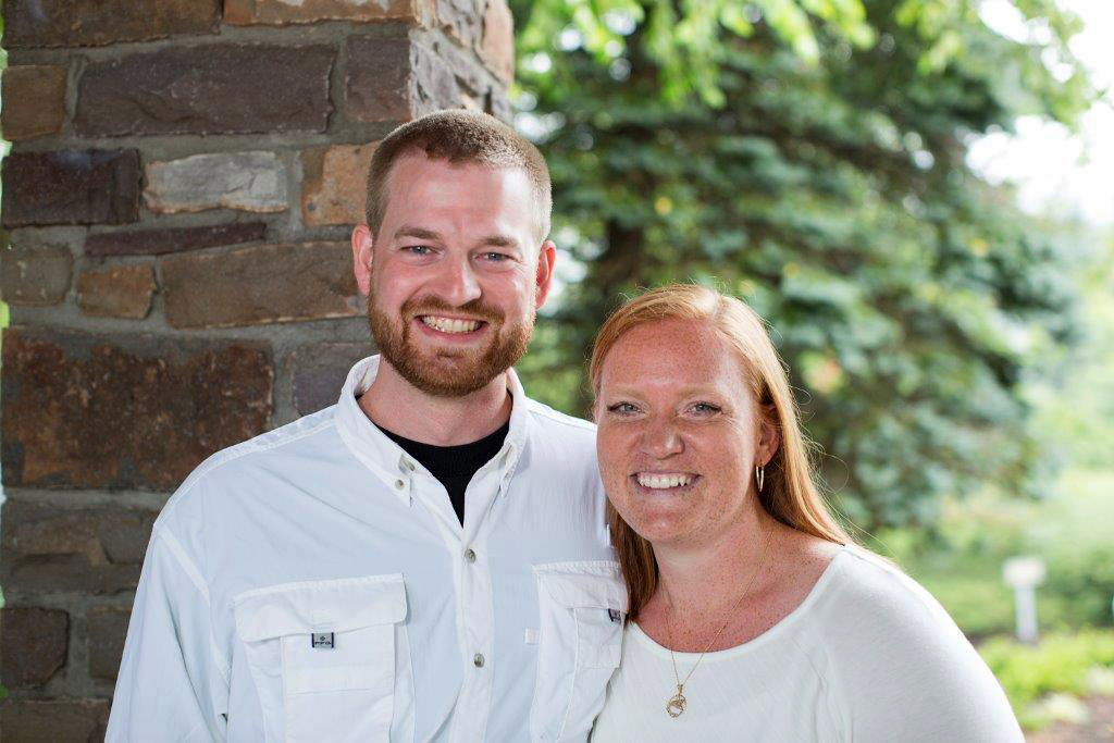 Dr. Kent Brantly, shown in an undated photo with his wife, Amber, became the first person infected with Ebola to be brought to the United States from Africa, arriving at at Emory University Hospital, in Atlanta on Saturday.