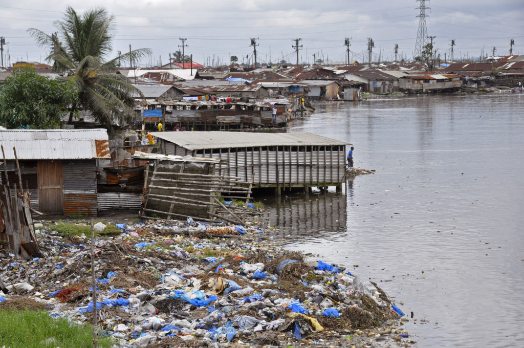 Residents are not allowed to leave the West Point area of Monrovia, Liberia, which has been hit hard by the Ebola virus. The Associated Press