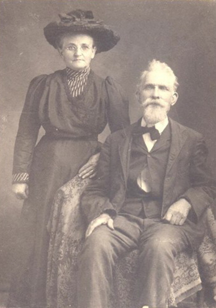 Rebecca Elizabeth Fitzgerald married Elijah Hanks Watson in 1871, and soon after acquired the skillets that eventually made their way into their great-great-granddaughter's kitchen.