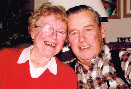 Raymond Webb, shown with his wife, Marilyn, helped create Limington's Enhanced 911 system and fought to keep taxes low. Family photo