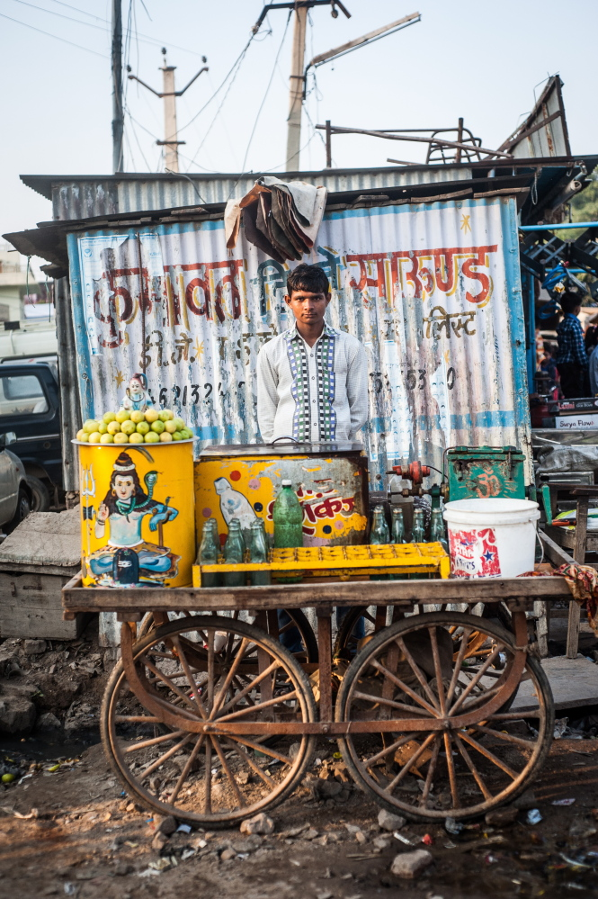 Brendan Bullock's Travel Journals, an exhibit of his photographs of India and other places, is at the Maine Media Gallery in Rockport through Nov. 15.