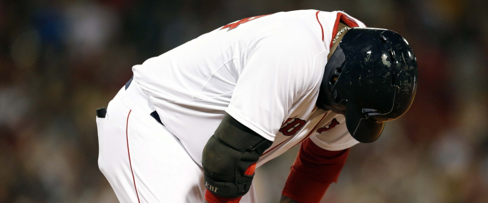Where once there had been celebration … nothing but dismay. David Ortiz had nobody around him for protection in the Boston Red Sox batting order this year. Simply nobody.