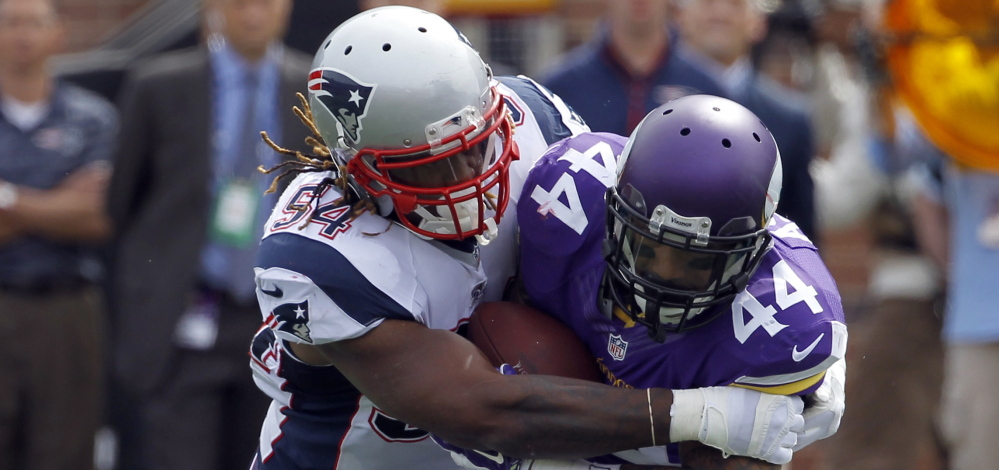 Patriots linebacker Dont'a Hightower has been a strong run defender since he joined the team in 2012, but he's also become more versatile as a pass defender and pass rusher.