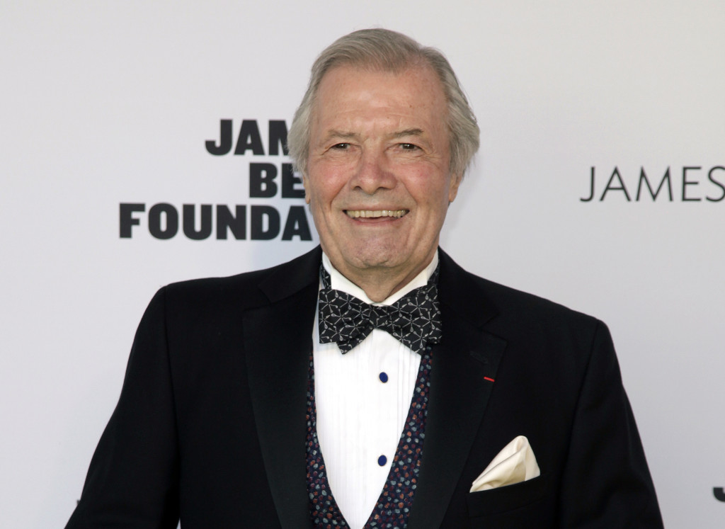 Jacques Pepin in a Award function.