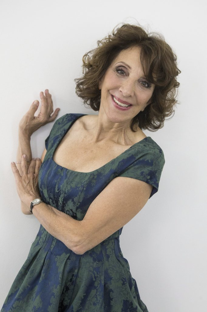 Comedian and actress Andrea Martin, 67,  poses in Toronto as she promotes her new book