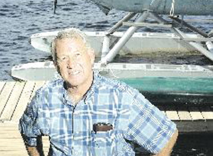 Bill McKay, pictured in a 2006 file photo with a float plane.