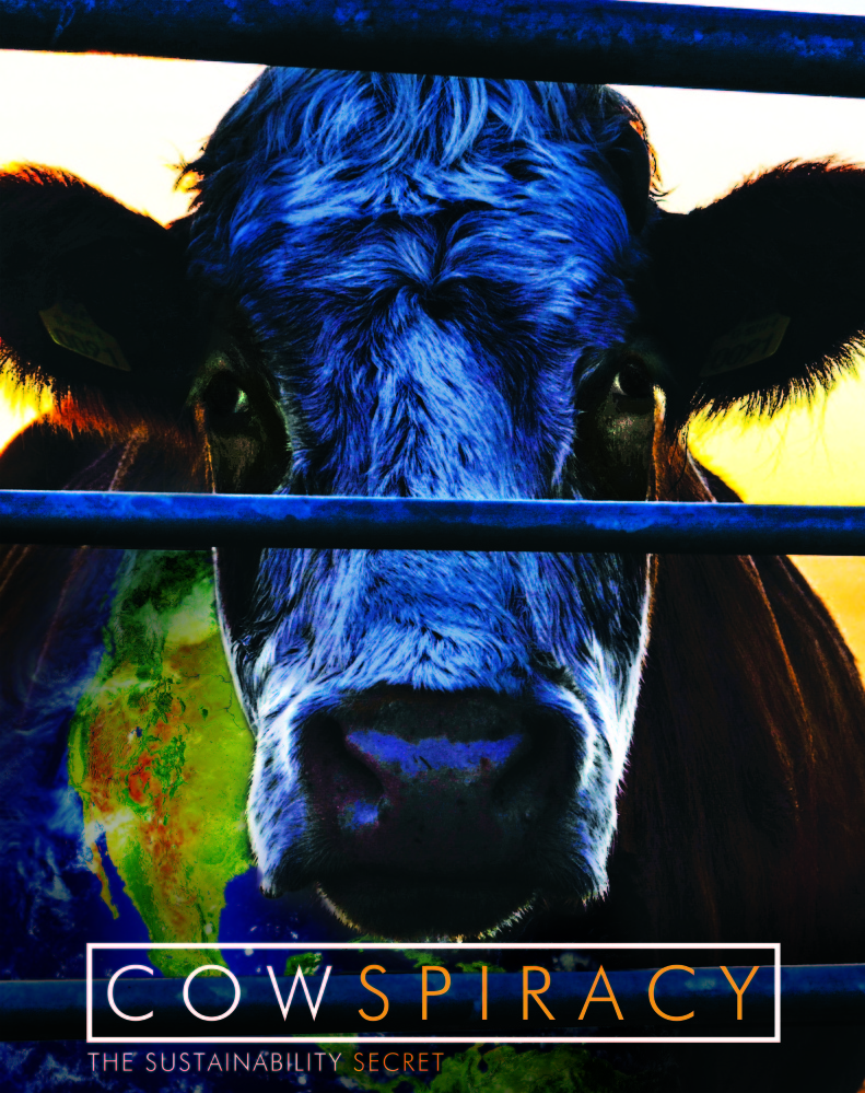"""""""Cowspiracy"""" is a documentary that explores why mainstream environmental groups often ignore the connection between eating meat and harming the planet."""