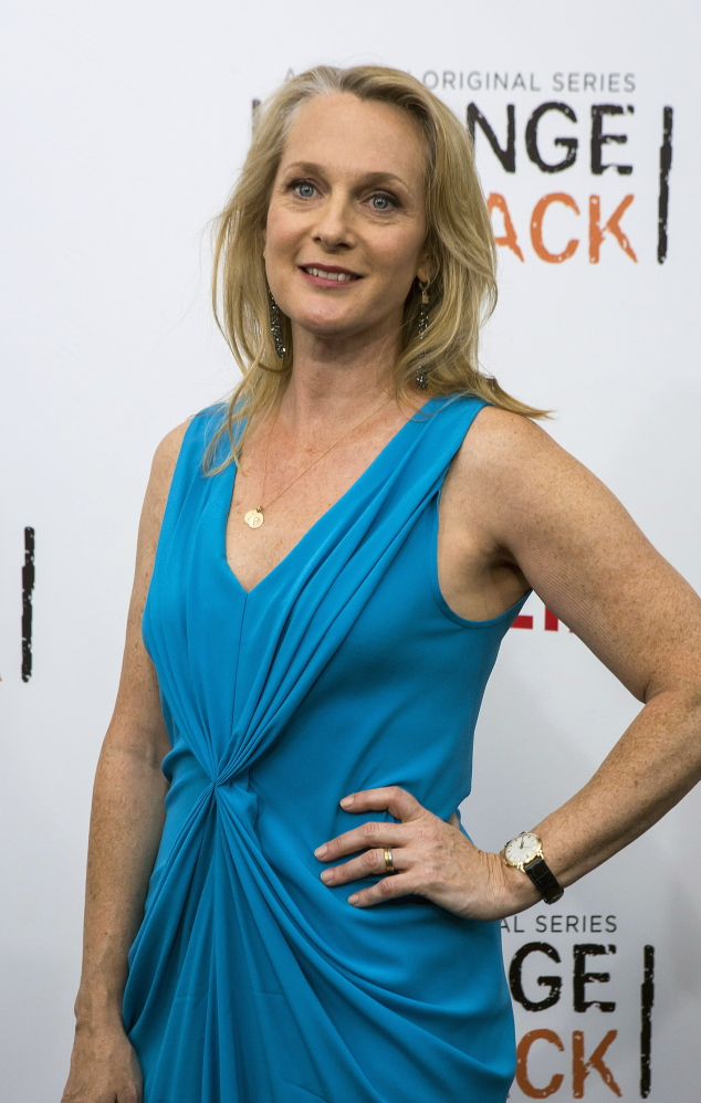 """Piper Kerman attends the Season 2 premiere of """"Orange is the New Black"""" in New York in May."""