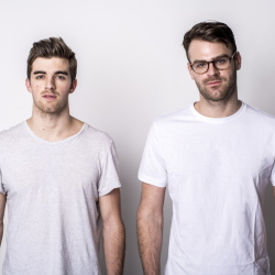 "Drew Taggart, left, and Alex Pall ham are The Chainsmokers. Their video of the hit song ""#Selfie,"" of a woman in a dance club bathroom, has been viewed on YouTube more than 470 million times since it was posted in January 2014."