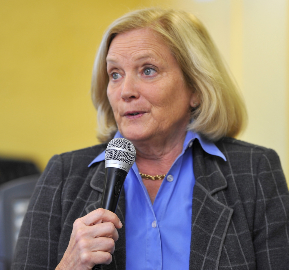 Democratic U.S. Rep. Chellie Pingree is seeking her fourth term.