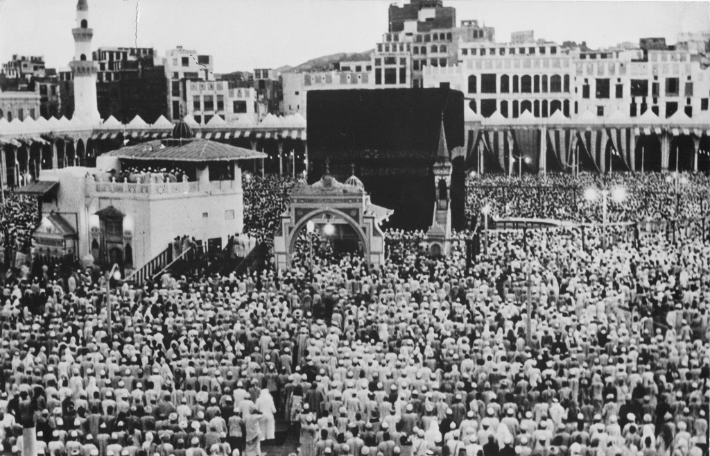 In this 1951 photo, thousands of Muslims perform the Hajj pilgrimage in Mecca. The Associated Press
