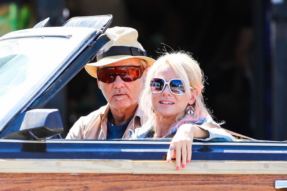 """Naomi Watts with Bill Murray in """"St. Vincent."""""""