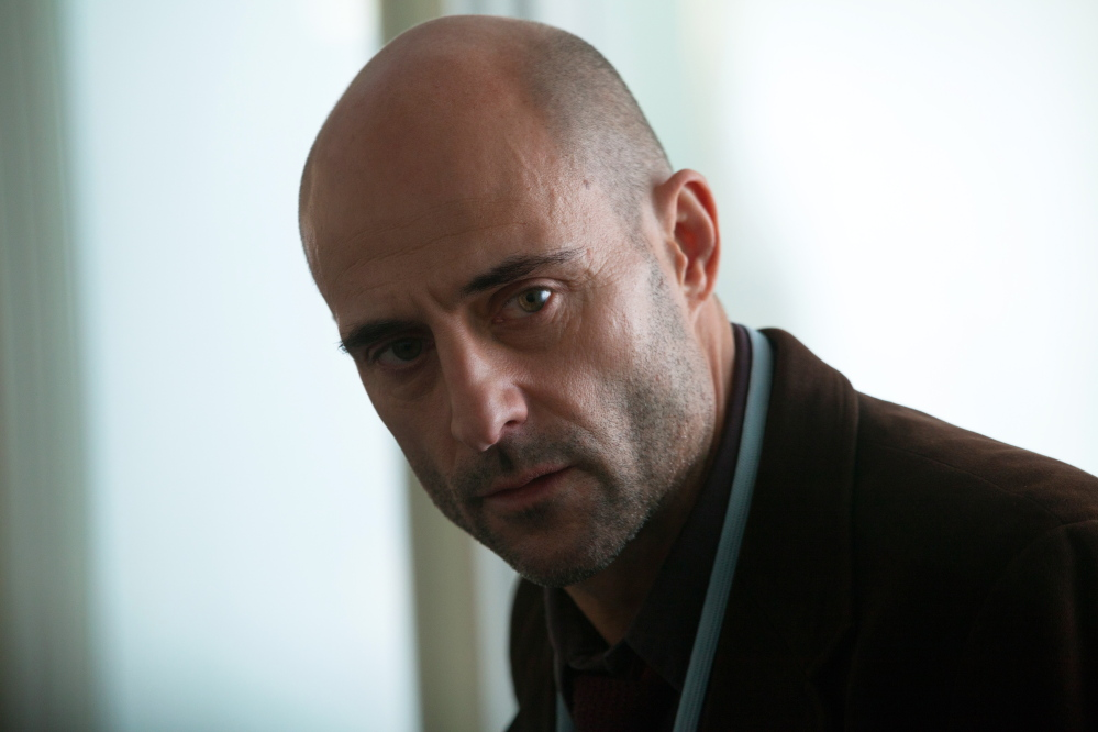 """Colin Firth and Nicole Kitman, above, and Mark Strong in """"Before I Go to Sleep."""""""