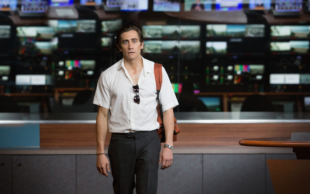 "Jake Gyllenhaal appears in a scene from ""Nightcrawler."""
