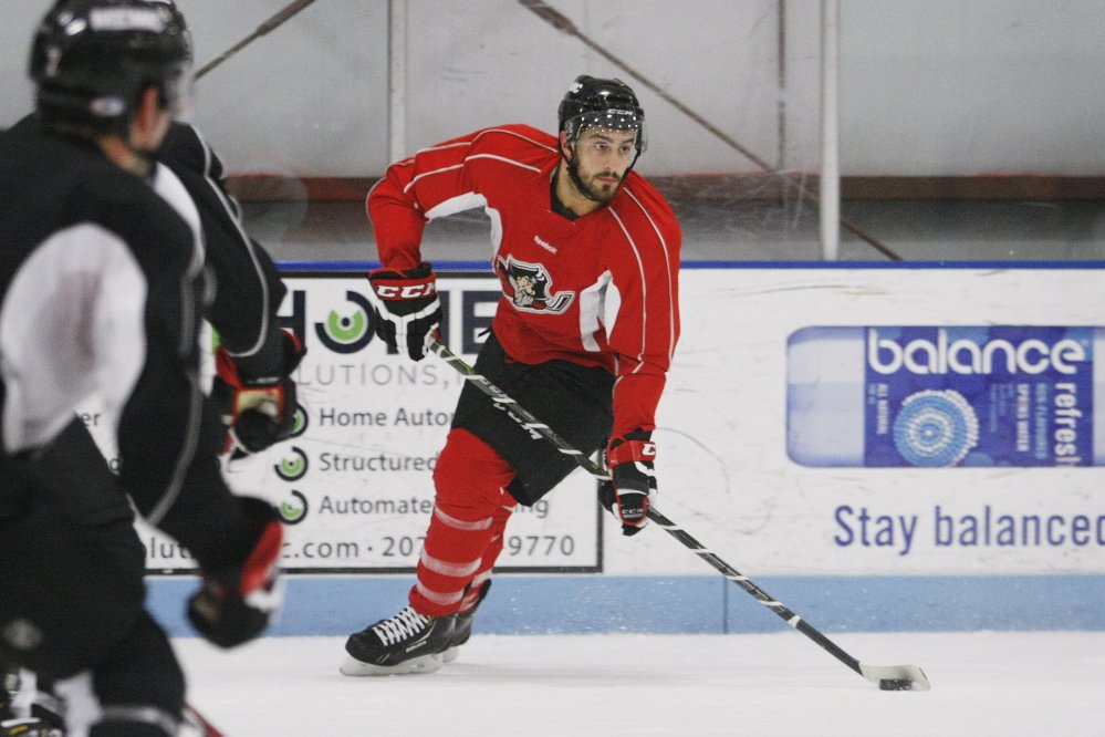 Lucas Lessio scored 29 goals last season to lead the Portland Pirates. This year he has four goals, including the winner in overtime last Sunday against Albany. That win brought the Pirates back to .500 after 10 games.