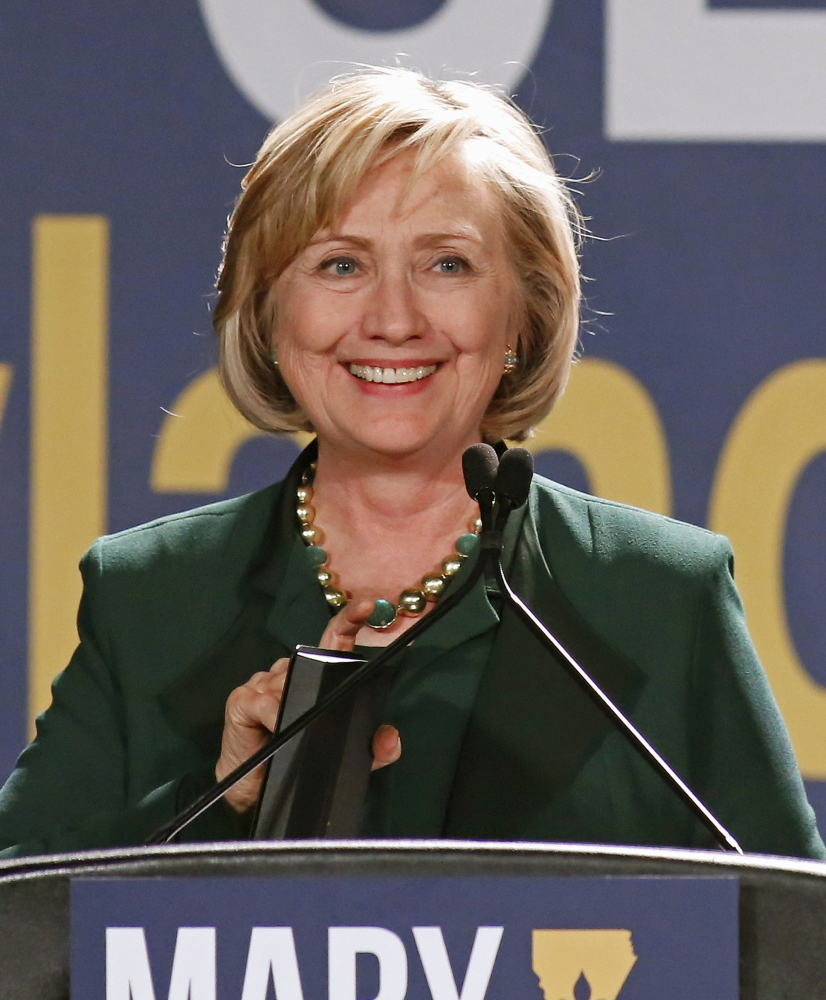 Although Hillary Clinton sometimes faltered on the stump, she remains the likely Democratic standard-bearer.