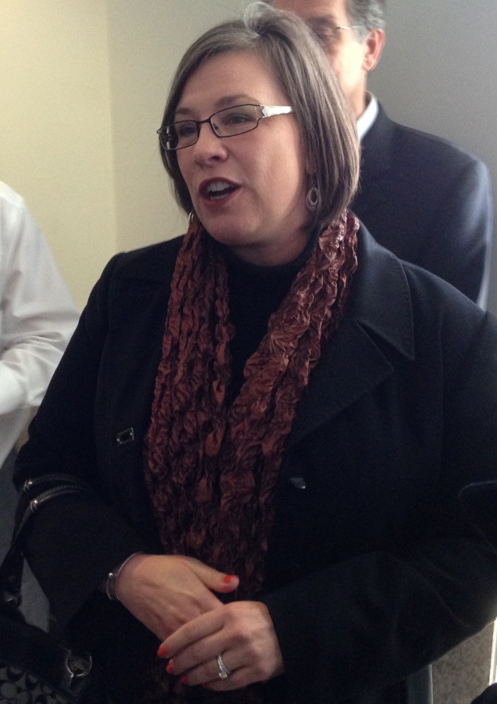 An upbeat Kerry Wilks, who had been denied a marriage license in Kansas, will be allowed to marry her partner as a ruling forced her state to recognize same-sex marriages.