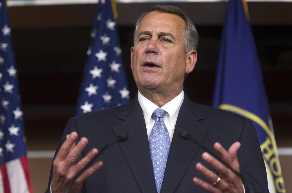 House Speaker John Boehner, in his first remarks since Tuesday's election sweep for Republicans, warned President Obama against taking executive action on immigration reform.