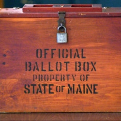 """""""It definitely felt like an invasion of privacy,"""" said Sanford voter John Fahrenbruch, 50, who was a recipient of one of the mailers that sought to shame Maine residents into voting. """"I felt violated."""" 2002 Press Herald file photo/John Patriquin"""