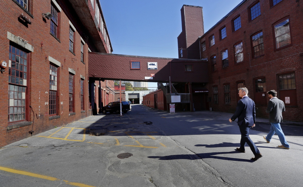 The historic Portland Co. complex occupies 10 acres of land as big as the Old Port.