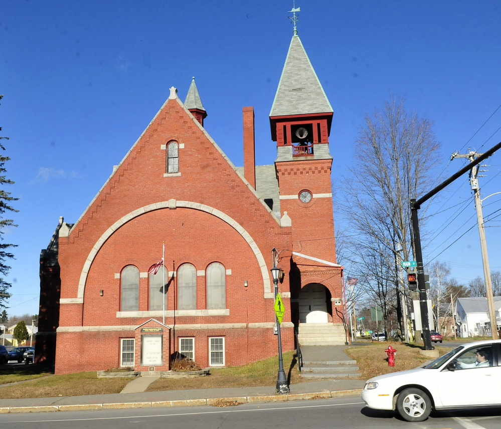 The Madison Congregational Church is a downtown fixture. It was founded in 1804 in South Anson and moved in 1892 to where it now stands at Western Avenue and Main Street.