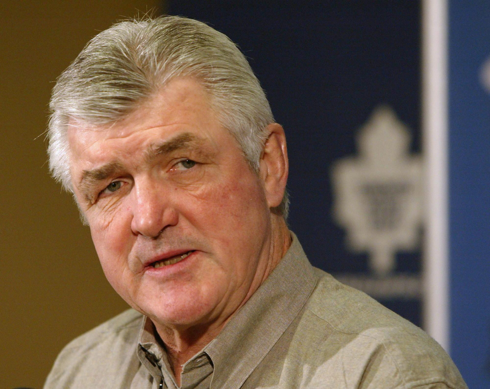 Former NHL player, coach and executive Pat Quinn died Nov. 23 in Vancouver. He was 71.