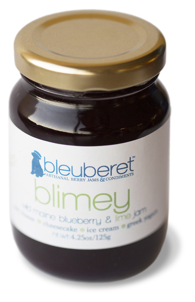 PORTLAND, ME - NOVEMBER 19: Blimey wild Maine blueberry and lime jam by blueberet shot for homegrown on Wednesday, November 19, 2014. (Photo by Yoon S. Byun/Staff Photographer)