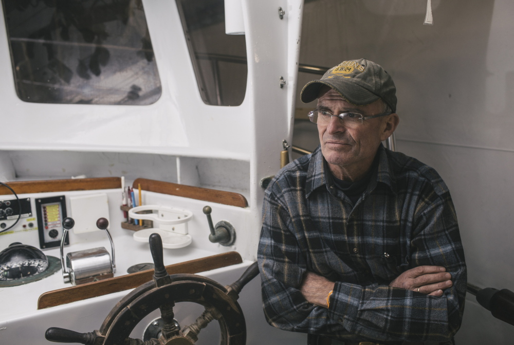 Tim Tower, who runs a charter-boat fishing operation out of Ogunquit and York, worries that he'll lose his customers thanks to federal regulations banning the possession of cod by recreational fishermen.