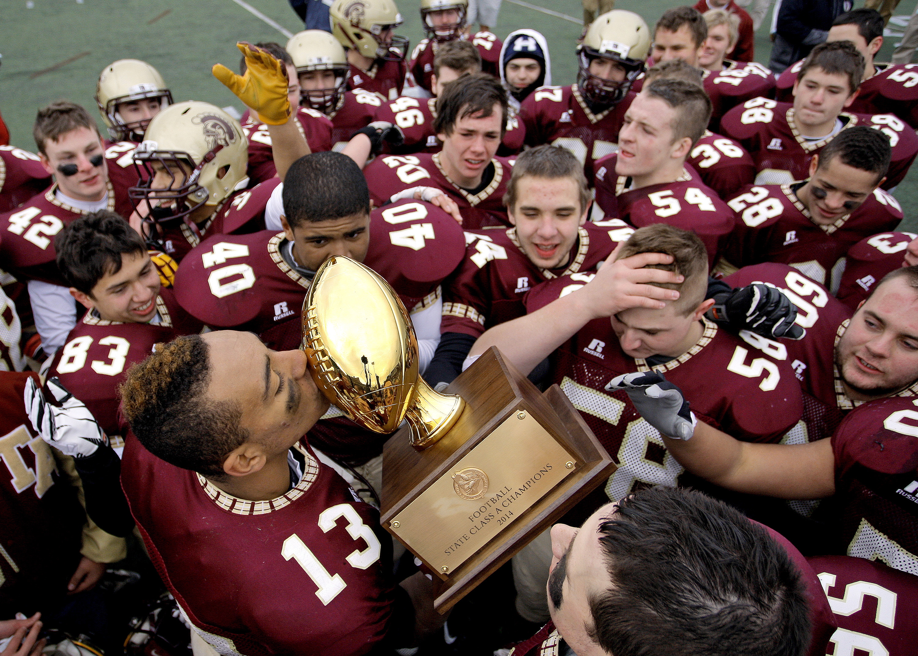 Thornton Academy Captures State Class A Football Title