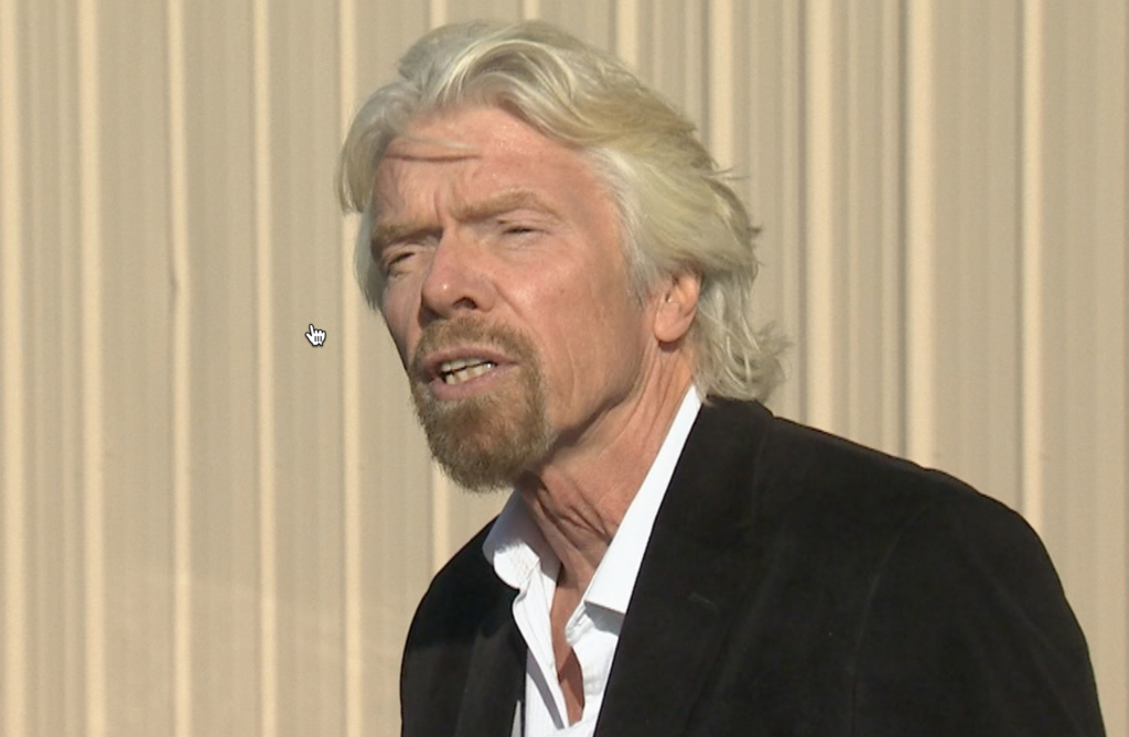 Virgin Galactic founder Richard Branson told Sky News on Monday that the company will move forward despite the crash. Screen image from video