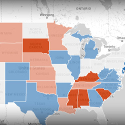2014 U S National Election Night View The Interactive Map