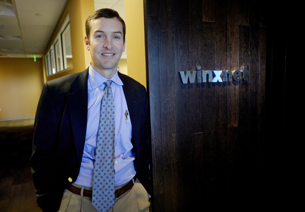 Christopher Claudio is CEO of Portland tech firm Winxnet. Shawn Patrick Ouellette/Staff Photographer
