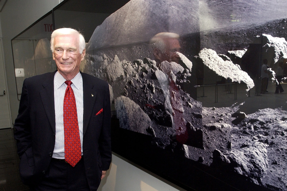 """Former astronaut Gene Cernan, the last man to walk on the moon, says his prediction of when humans would reach Mars """"was a little off."""" Cernan died on Jan. 16 at age 82."""
