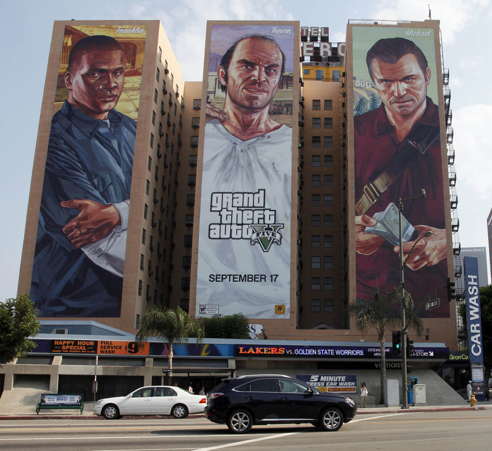"""Target Australia says it is removing """"Grand Theft Auto V"""" from shelves in its 300 stores after more than 40,000 people signed an online petition."""