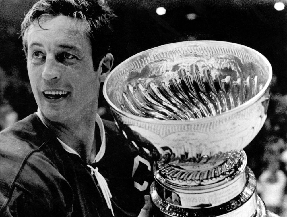 Jean Beliveau, who died Tuesday at age 83, won 10 Stanley Cups while playing with the Canadiens for 20 years. He retired in 1971 and was inducted into the Hall of Fame in '72.