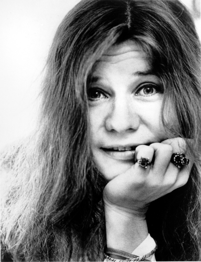 Janis Joplin in 1970, the year she died of a heroin overdose.