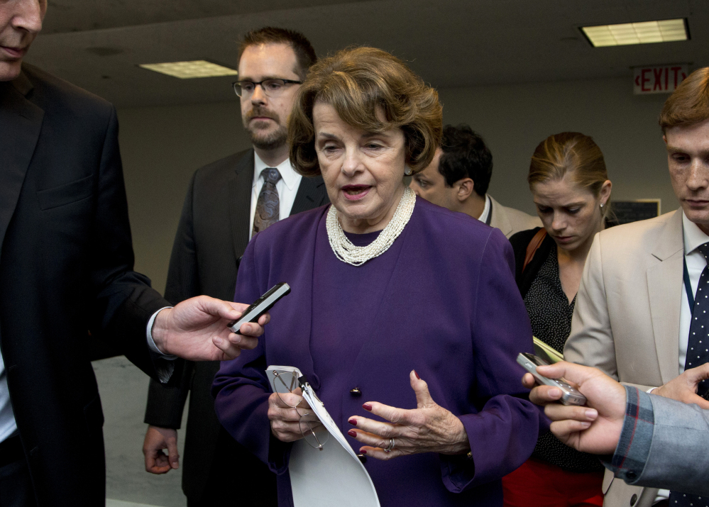 Senate Intelligence Chair Sen. Dianne Feinstein, D-Calif., heads the committee that may soon release an accounting of the CIA's use of torture on al-Qaida detainees held in Europe.