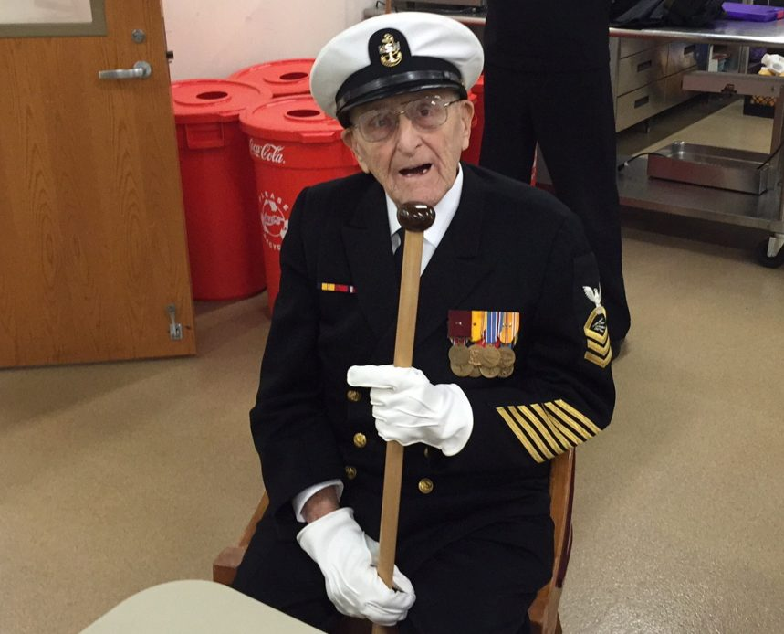 Former Chief Petty Officer Robert P. Coles Jr. was just 17 when he survived the attack on Pearl Harbor.