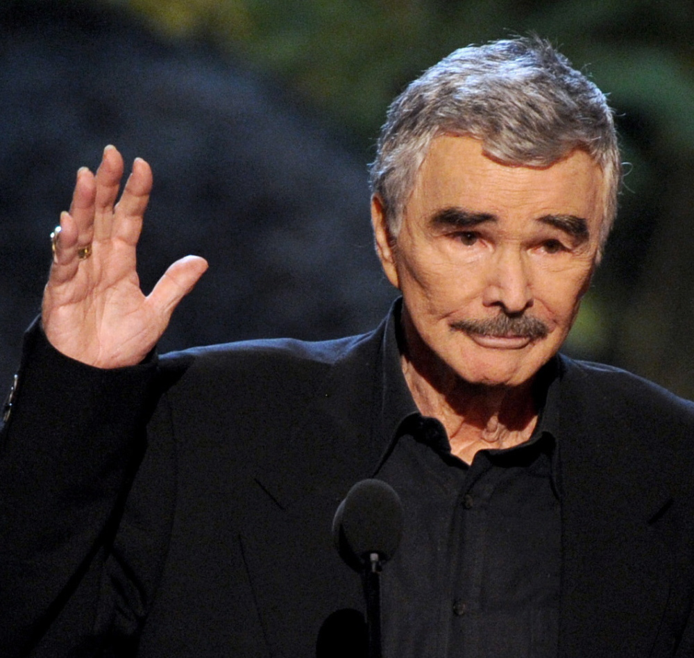 Items used by Burt Reynolds, above, in movies including