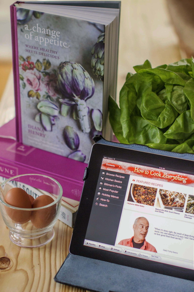 "Print cookbooks, such as Diana Henry's ""A Change of Appetite,"" are still preferred by about 60 percent of cookbook readers over digital versions, such as Mark Bittman's  ""How to Cook Everything,"" according to the Book Industry Study Group."