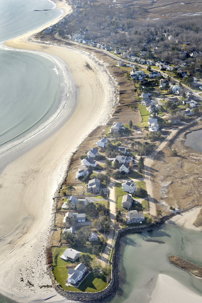 Tuesday's ruling by the Maine Supreme Judicial Court will allow the town of Kennebunkport to argue for public access to Goose Rocks Beach on a parcel-by-parcel basis.