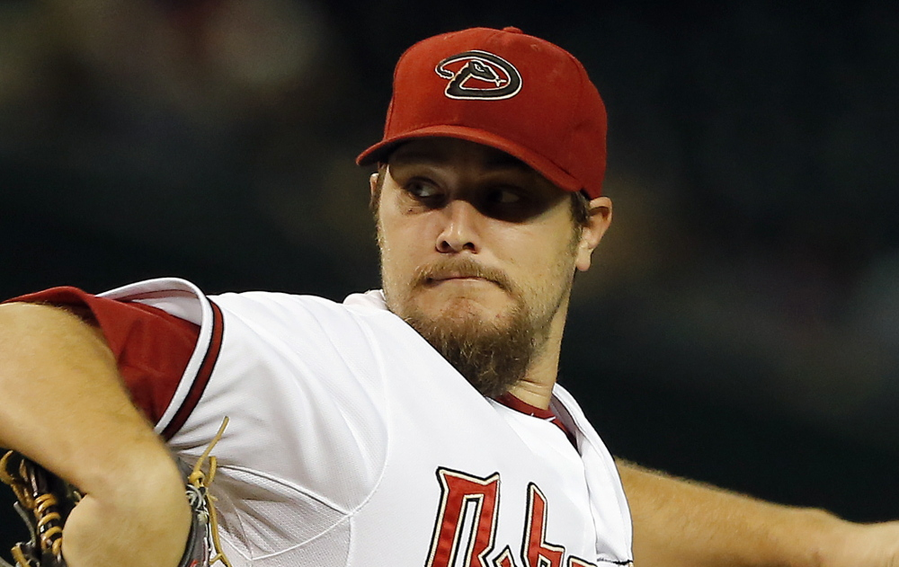 According to multiple media reports, the Red Sox have traded Rubby De La Rosa and Allen Webster to Arizona for lefty Wade Miley, above. The Associated Press