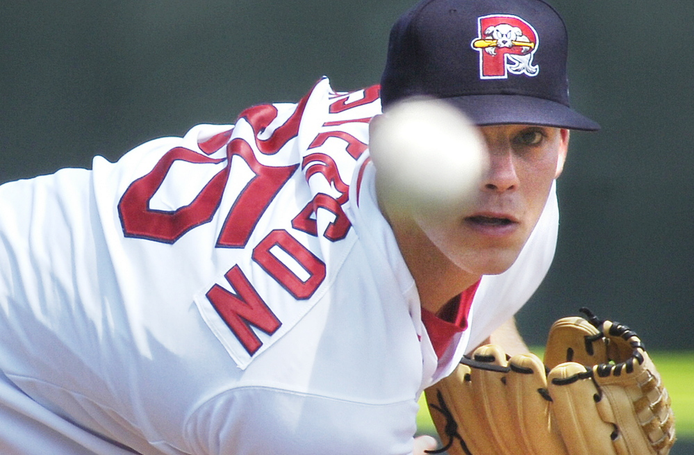 Justin Masterson, who pitched for the Portland Sea Dogs in 2007 and 2008, will return to the Red Sox as part of a revamped starting rotation in 2015.
