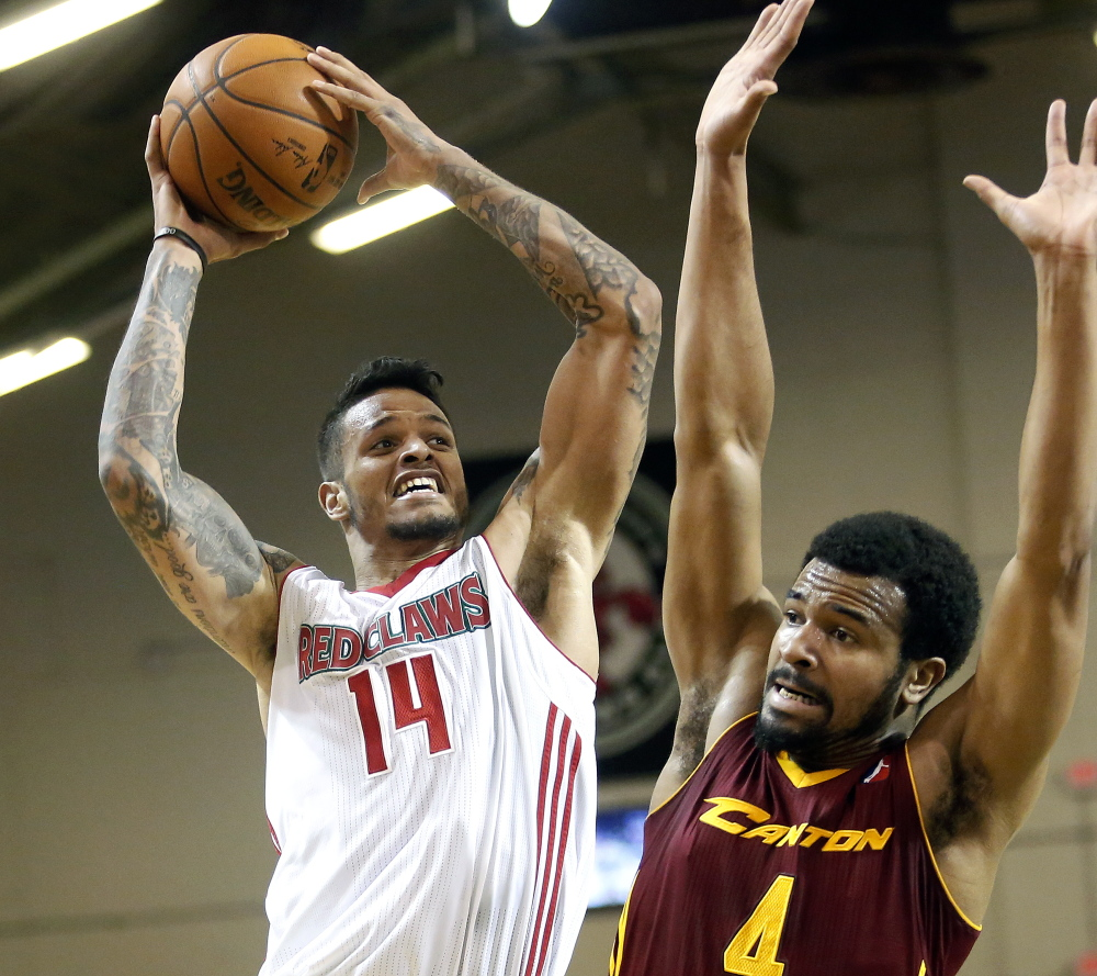 Chris Babb scored 17 points and grabbed seven rebounds to help the Red Claws improve to 5-0 at home and 9-2 overall.