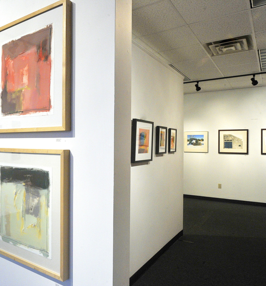 The Saccarappa Art Collective gallery on Main Street in Westbrook is among Maine's many art institutions, most of which require patronage to survive and prosper.